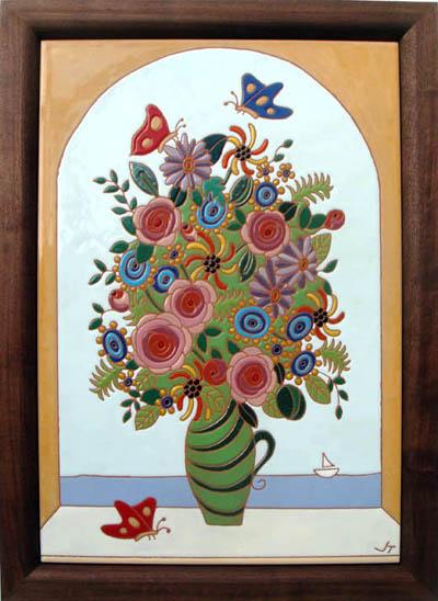 fiori e farfalle (花と蝶)