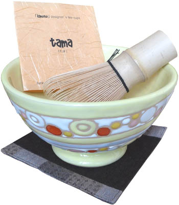 tama (cup, coaster, wood box)