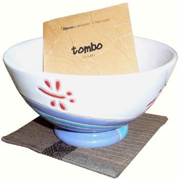 tombo (cup, coaster, wood box)