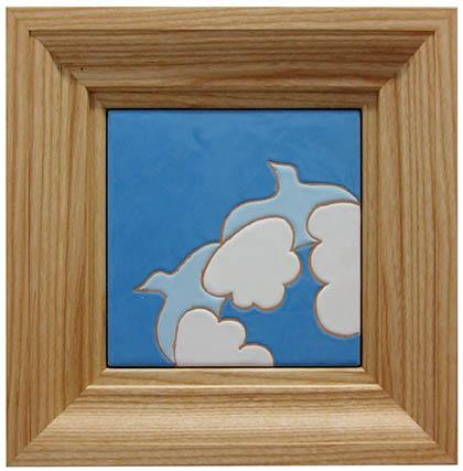 uccelli e nuvole
